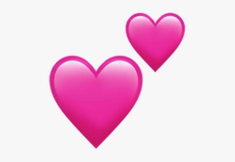Two Hearts Emoji Png Blue Heart Emoji Heart Emoji Pink Heart Emoji