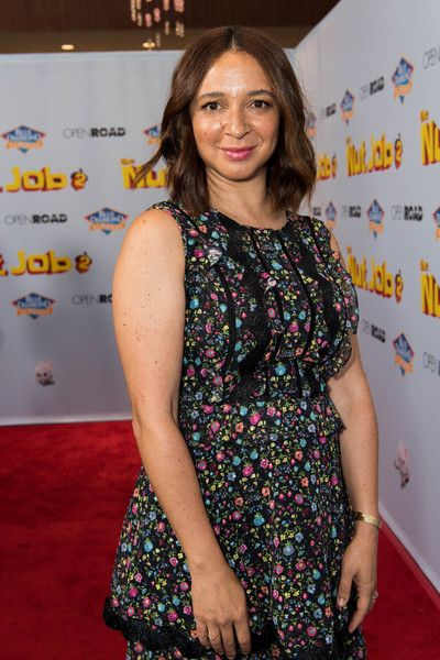 Actress Maya Rudolph attends the premiere of Open Road Films' 'The Nut Job 2: Nutty by Nature.'