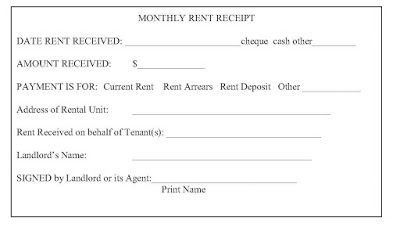 Ontario Landlord And Tenant Law Rent Receipts What Is Required From A Landlord Receipt Template Being A Landlord Receipt