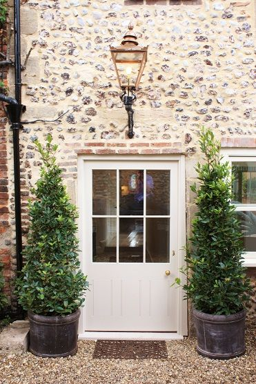 Gorgeous Front Door And Windows Farrow And Ball Hardwick White
