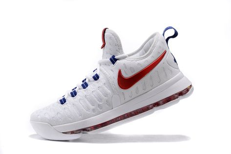 newest 37fef 25a29 Nike-KD-9-USA-White-University-Red-Race-Blue-Black-3