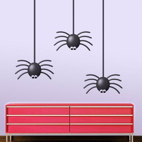 Rysmliuhan Shop Pegatinas Halloween Adhesivos de Halloween 3D Pegatinas de Halloween Decoraci/ón Arte Halloween Pegatinas Terror Halloween Pegatinas 1