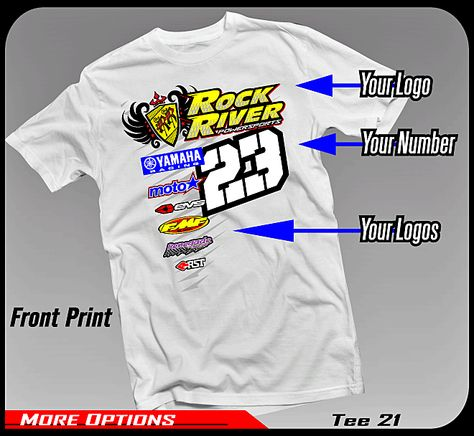 ed9eee8a0fe4 MX team shirts   trailer graphics