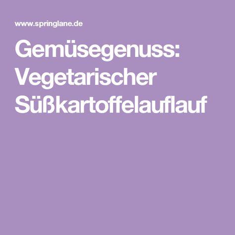 Gemüsegenuss: Vegetarischer Süßkartoffelauflauf