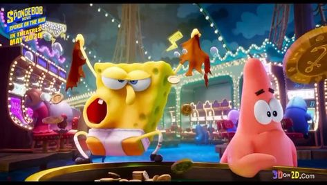 Paramount pictures reveals Spongebob Squarepants Sponge on the Run Big Game Spot — 3Dor2D.com