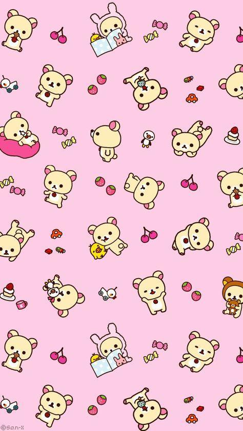 Kawaii Wallpaper Backgrounds Tumblr Hello Kitty 65 Ideas Rilakkuma Wallpaper Wallpaper Iphone Cute Iphone Wallpaper Kawaii