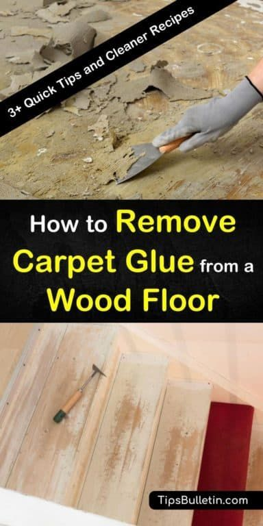 3 Fast Easy Ways To Remove Carpet Glue From A Wood Floor In 2020 Carpet Glue Removing Carpet Cleaning Hacks
