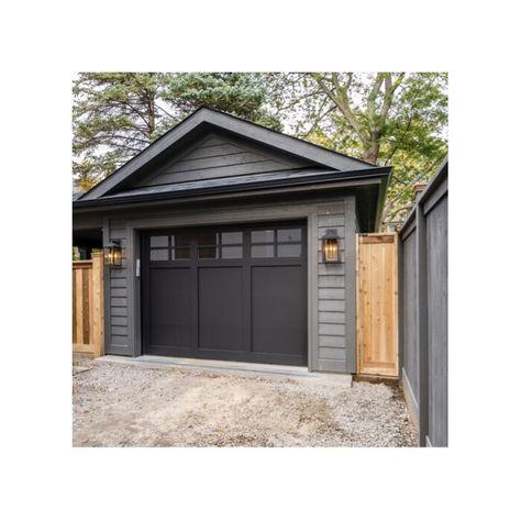alainleducz - 0 results for brick house exterior Grey Exterior, Modern Farmhouse Exterior, Exterior Design, Gray Exterior Houses, Black Trim Exterior House, Black Windows Exterior, Grey House White Trim, Black Garage Doors, Gray Brick Houses