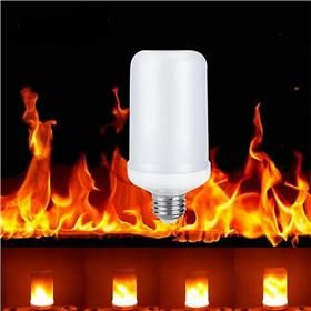 E26 Led Flame Effect Fire Light Bulbs Creative Lights Flickering Emulation Vintage Atmosphere Decoration Lamp Decorative Light Bulbs Led Light Bulb Light Bulb