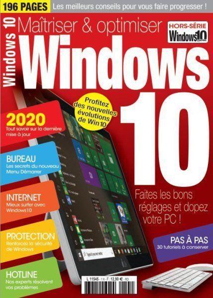 Windows Internet Pratique Hors Serie Maitriser Optimiser Windows 10 2020 In 2020 Windows 10