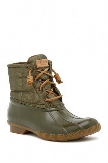 Timberland boots, Sperry duck boots