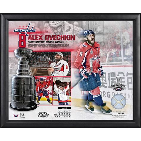 a468e48c1 Alexander Ovechkin Washington Capitals Fanatics Authentic Framed 16