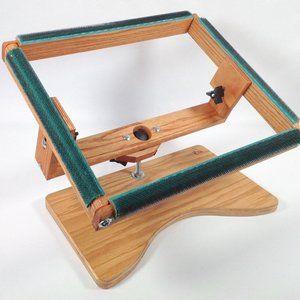 Rug Hooking Frame 14 X 11 W473 Lap Frame With Swivel And Tilt Rug Hooking Frames Metal Floor Creative Inspiration
