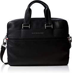 Tommy Hilfiger Herren Th Business Computer Bag Laptop Tasche Schwarz Black 11x31x41 Cm Laptop Tasche Taschen Herrin