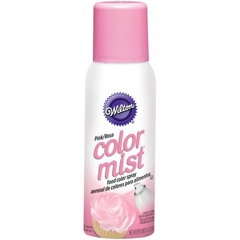 Wilton® Color Mist® Food Color Spray | michaels | Pink food ...