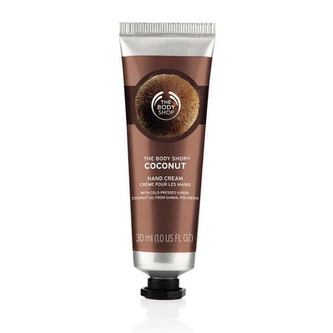 Coconut Oil Hand Cream In 2020 The Body Shop Hand Lotion