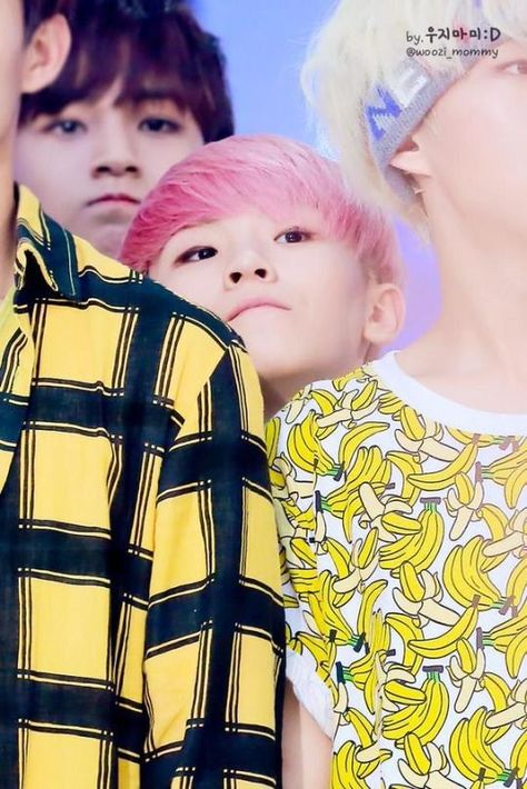 Short people probs with Woozi. I can relate Woozi.