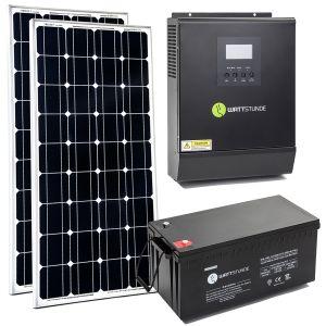 Solar Inselanlage 230v Solaranlage Pv Anlage Solar