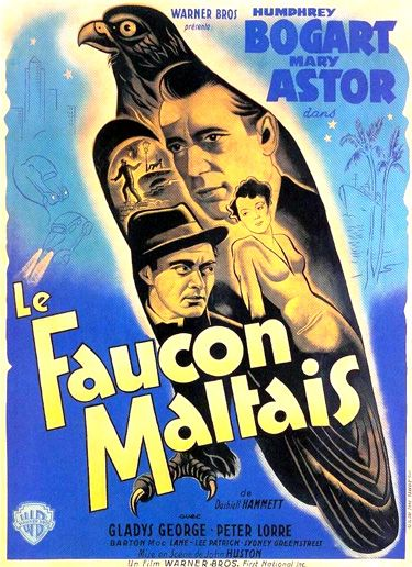 The Maltese Falcon 1941 French Movie Posters Movie Posters Vintage Maltese Falcon Movie