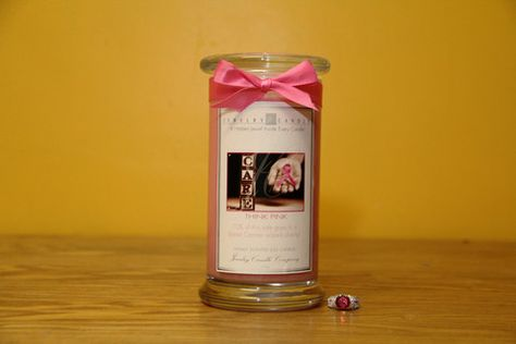 This wonderful scent is a sweet bouquet of mandarin, bergamot & orange enhanced by hints of peach & berries on an undertone of musk. 10% of all of these Think Pink! Candles will be donated to a Breast Cancer related charity!