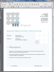 internet cafe business plan sample