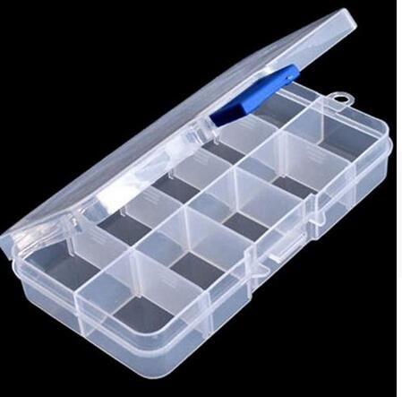 Blue 1pcs High Quality Round Shape Plastic Hard Drill Bit Storage Case