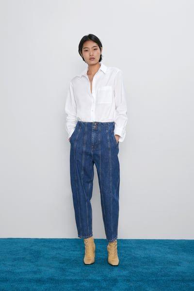 Zara boyfriend slouchy jeans