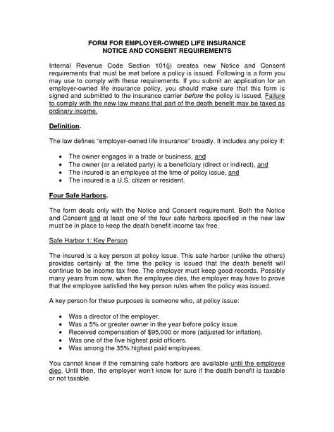 Employee Consent Letter - Excellent Letter of Consent Also - employee notice form