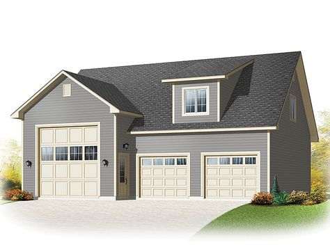 If You Are Looking For Garage Plans For Your Rv We Have An Extensive Collection Ranging In Size And Style Garage Plans With Loft Rv Garage Plans Garage Plans