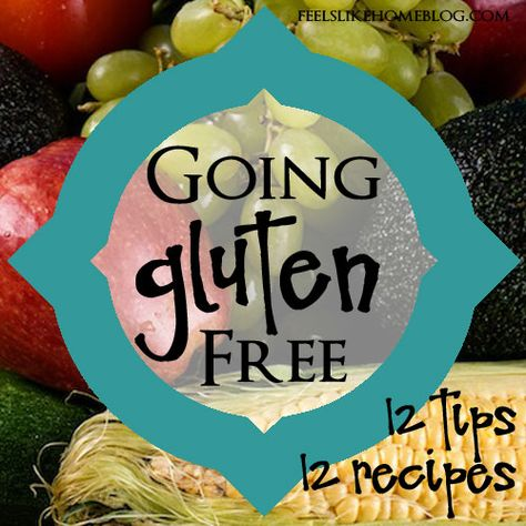 How to go gluten free #gfcommunity