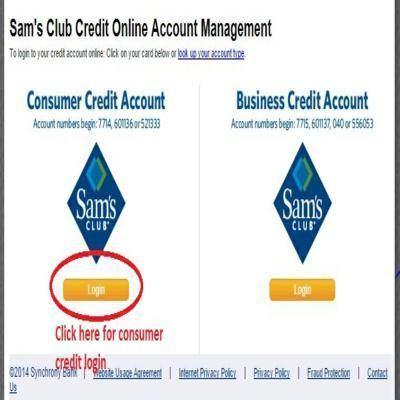 Samsclub Com Credit Login >> Get Connected With Sam S Club Through Sam S Club Credit Card Login