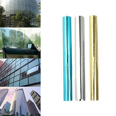 One-way Mirror Window Film Glass Sticker UV Reflective Insulation For Home Decor