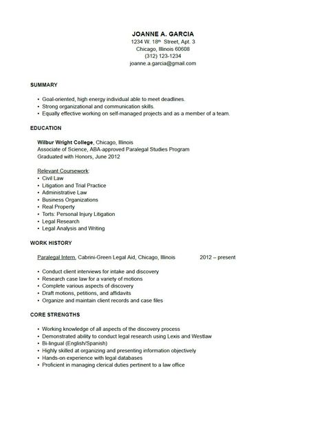 resume on paralegal resume templates and