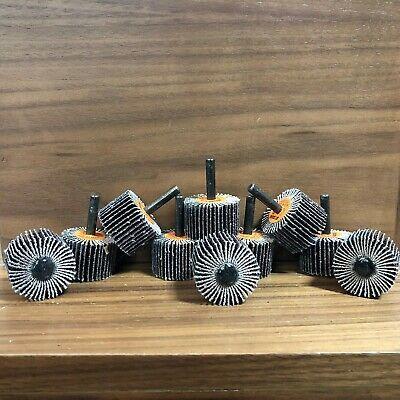 Standard Abrasives 612403 A O Flap Wheel 1 In Face Width 1 1 2 In Diameter 10ct In 2020 Abrasive Habitat For Humanity Ebay