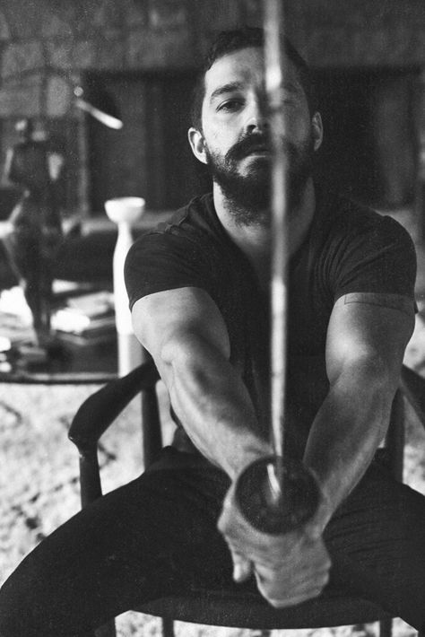 "Shia LaBeouf... now I never was a huge fan of his but the older he gets the more I like his acting. His part in the ""elastic heart"" video was beautiful"