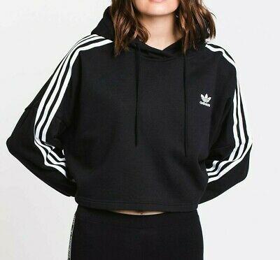 Ad)eBay Adidas Originals Women's Cropped Hoodie NEW