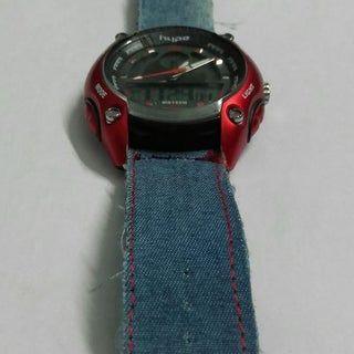 Diy Denim Watch Strap In 2020 Denim Diy Watch Strap Watch