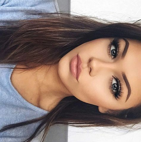pinterest | @edorsey14 absolutely gorgeous natural-looking makeup! love the whole look!!