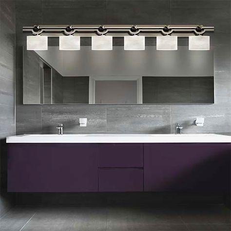 Justice Design Group Limoges Matte Black Six Light Bath Bar Por