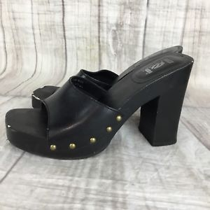 9828690fdda38 90s-Vintage-LEI-Dujour-Women-039-s-Wooded-Heels-Platforms-Open-Toe ...