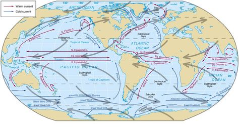 World Ocean Map Hd Map Of United States And Oceans Maps Of Oceans Cold Desert In The World Map World Map Current Ocean Currents Map Ocean Current Map Live