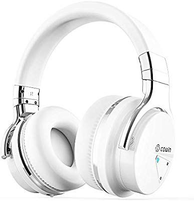 Cowin Active Noise Cancelling Bluetooth Wireless Headphone with Microphone Black