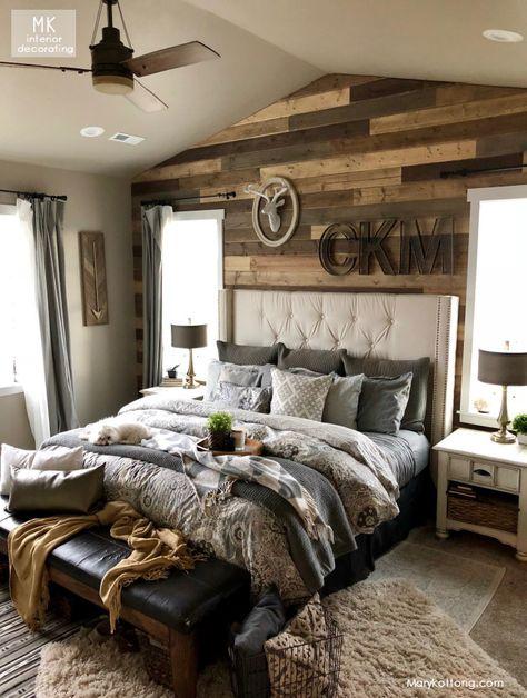 Home Decor Bedroom, Western Bedroom Decor, Home Bedroom, Bedroom Interior, Rustic Bedroom, Bedroom Design, Mater Bedroom, Home Decor, Room Ideas Bedroom