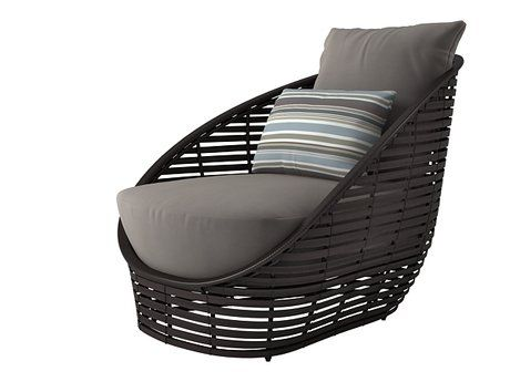 Oasis lounge chair Oasis, 3d and Models - balou rattan mobel kenneth cobonpue
