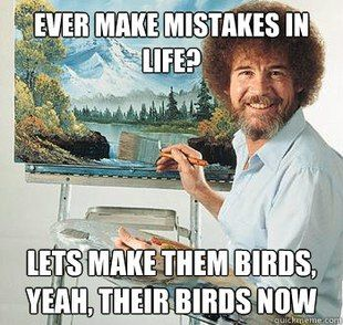 I'm willing to overlook the grammatical error becuase I love this so much. Maybe I should just turn it into a bird.