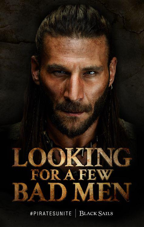 Zach McGowan as Charles Vane, Black Sails. #piratesunite