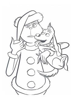 30 Desenhos O Grinch No Natal Para Colorir Pintar Imprimir