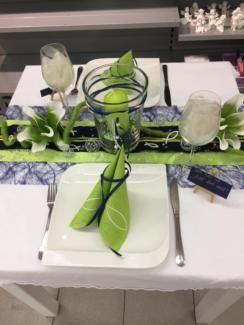 Tischdeko Kommunion Taufe Konfirmation Deko Tafeldeko Bänder