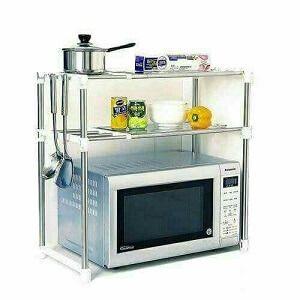 اكسسوارات المطبخ تجميعية لقائمة من 40 اكسسوارات مطابخ بالصور افضل سلعة Microwave In Kitchen Kitchen Microwave Stand