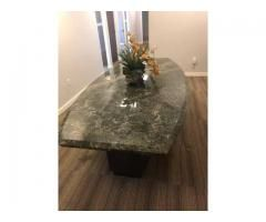 Beautiful Boat Shaped Granite Conference Table Conference Table Granite Home Office Furniture